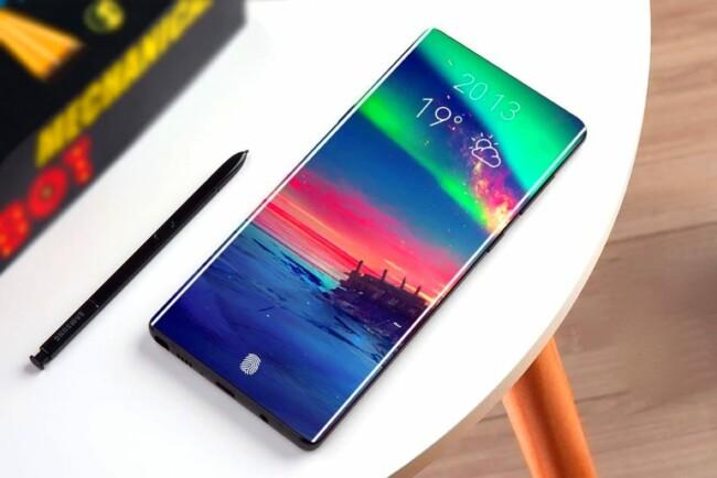 У Samsung Galaxy Note 10 уберут селфи-камеру